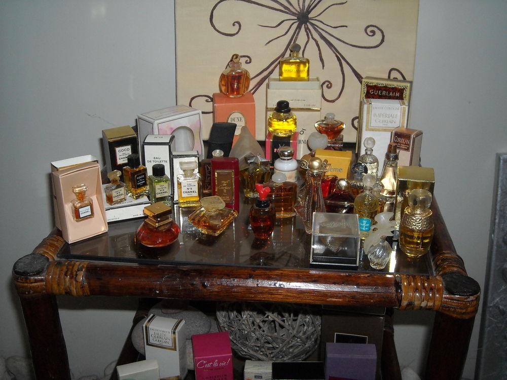 miniatures de parfum  0 Saint-Georges-des-Coteaux (17)