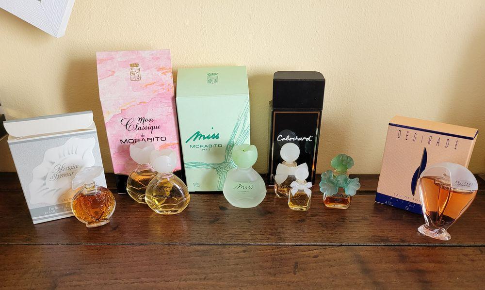 Miniatures de parfums Grès, Morabito, Aubusson