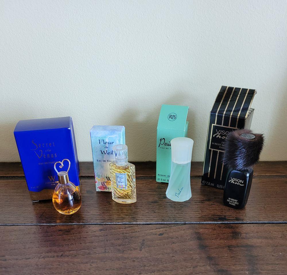 Miniatures de parfums Weil et Beaulieu  15 Melun (77)