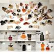 Lot de 52 miniatures de parfums