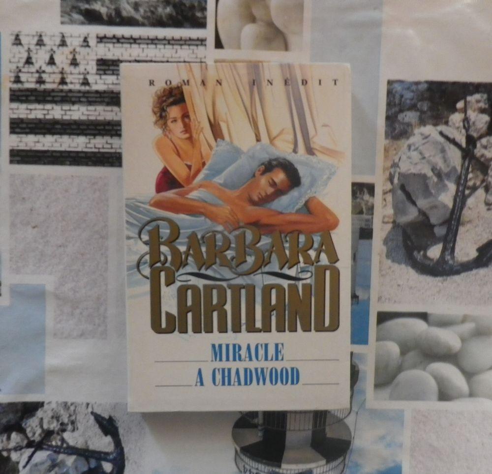 MIRACLE A CHADWOOD de Barbara CARTLAND Grand Livre du Mois 4 Bubry (56)