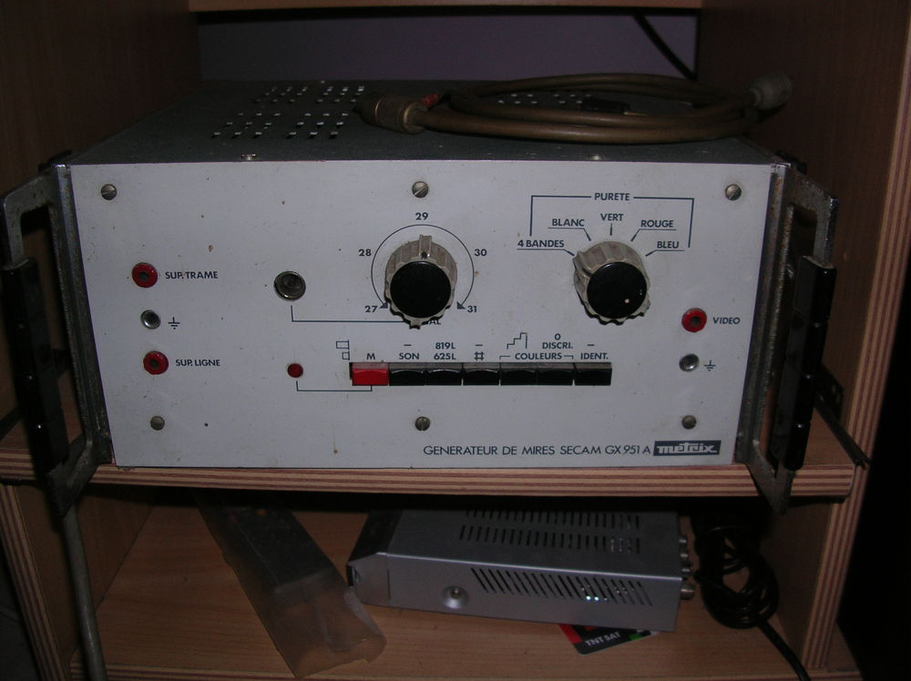 MIRE SECAM pour réglage de Télévision 90 Saint-Lys (31)