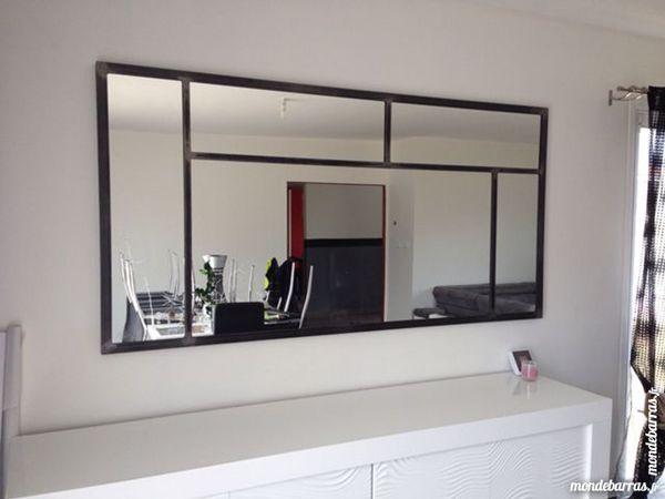 Achetez miroir xxl acier occasion annonce vente saint for Miroir xxl design