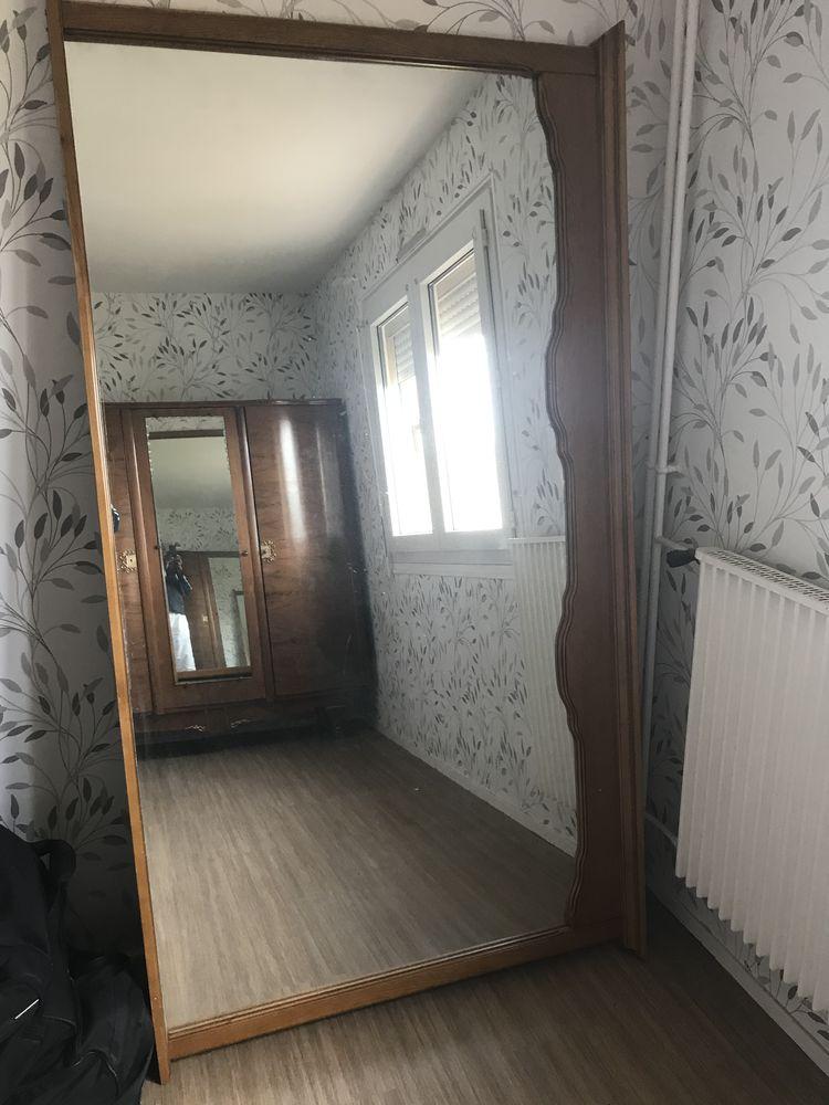 Miroir ancien en bois sculpté 0 Rouen (76)