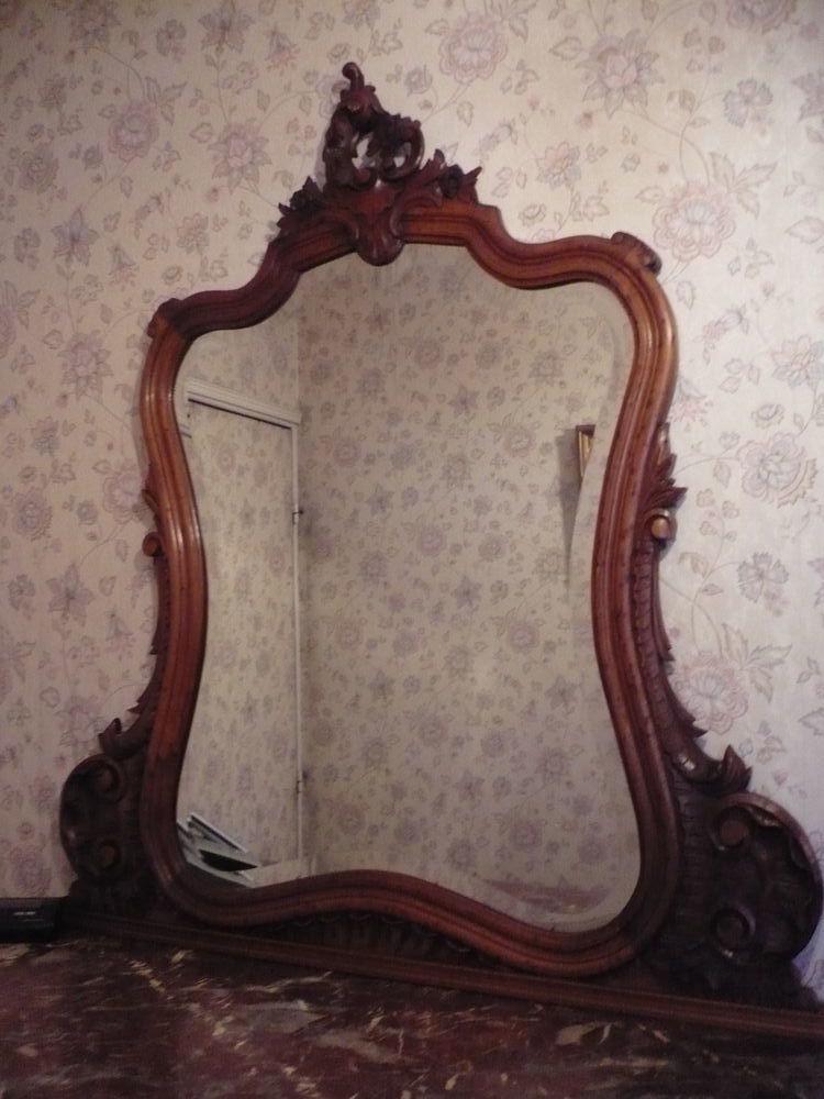 Miroir ancien XIX eme siécle  110 Marseille 2 (13)