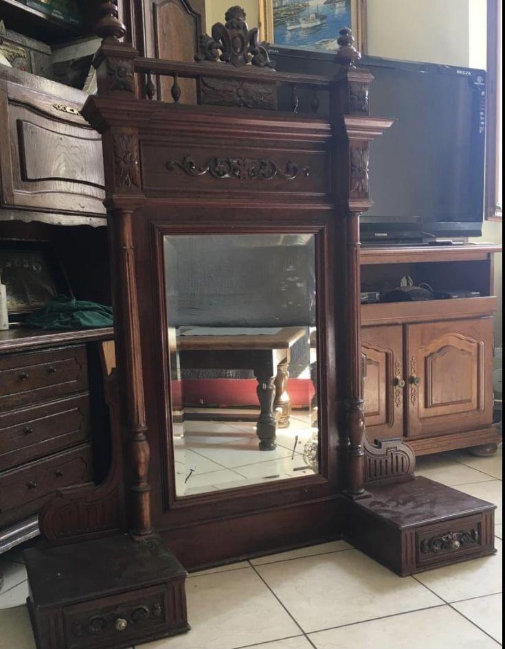Miroir ancien style Louis XVI  1000 Grasse (06)