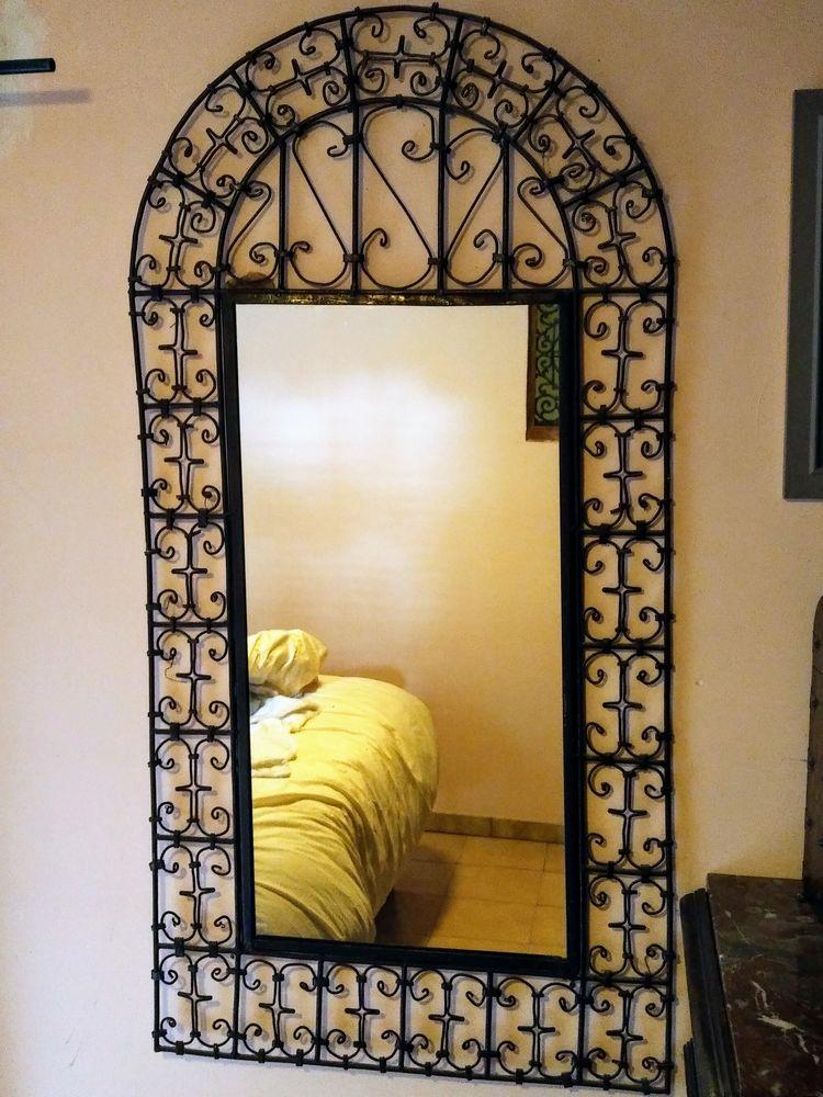 miroir artisanal fer forgé marocain. 0 Port-la-Nouvelle (11)