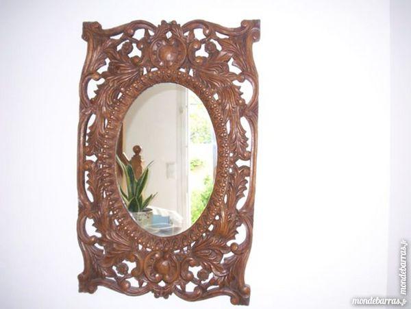 miroir en bois sculpté 80 Les Pavillons-sous-Bois (93)