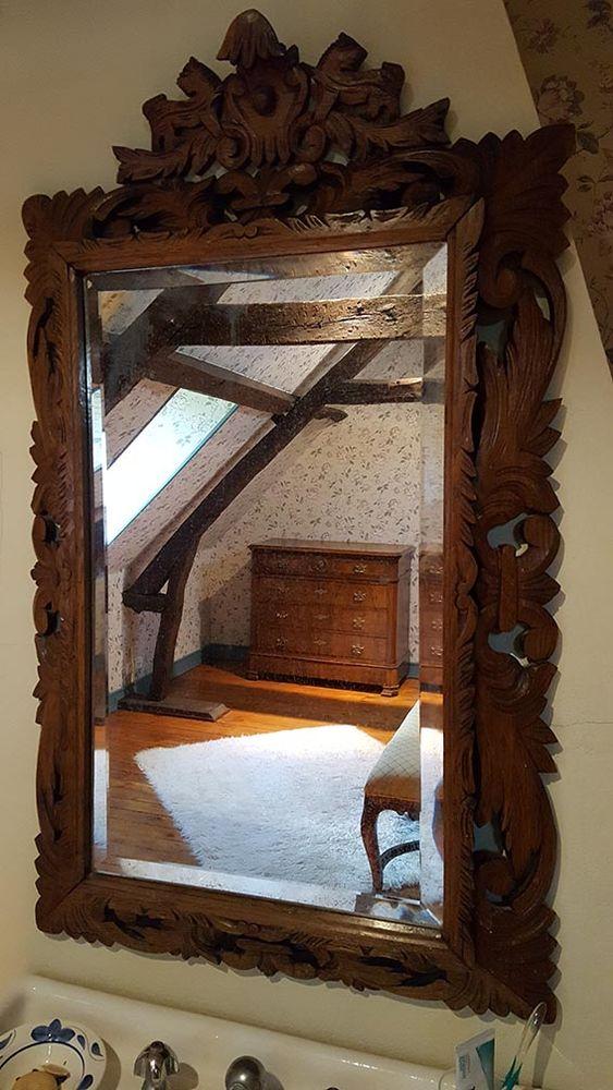 Miroir en bois sculpté 300 Paris 20 (75)