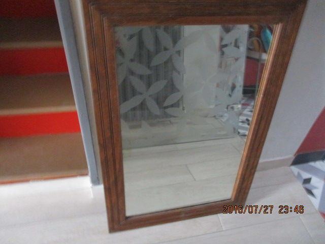 Miroir cadre bois 50 Castres (81)