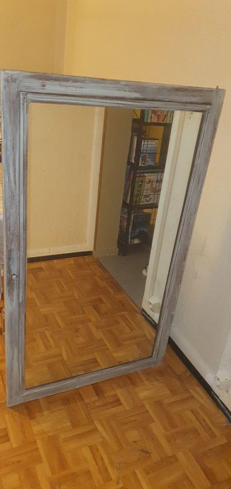 Miroir cadre en bois  60 Sarcelles (95)