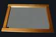 Miroir cadre en pin Décoration