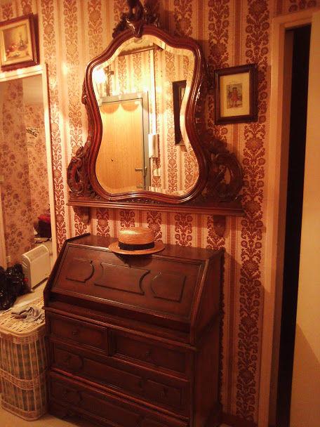 Miroir de coiffeuse bois 150 Fos-sur-Mer (13)