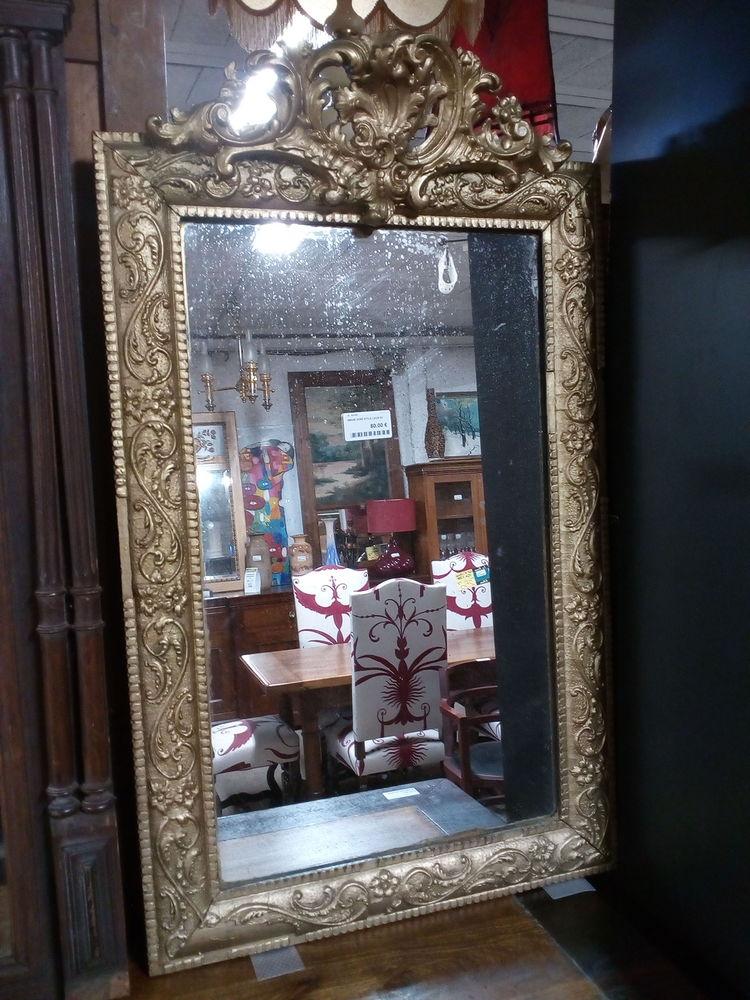 Miroir doré style Louis XV Décoration