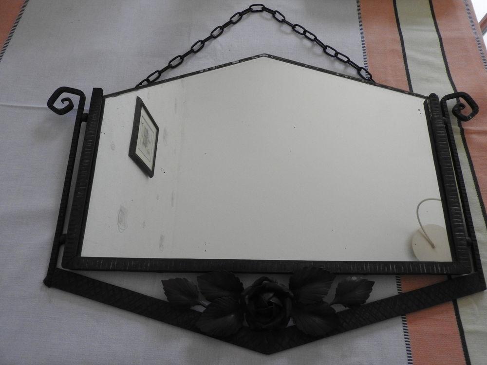 Miroir fer forgé art-déco 150 Poitiers (86)
