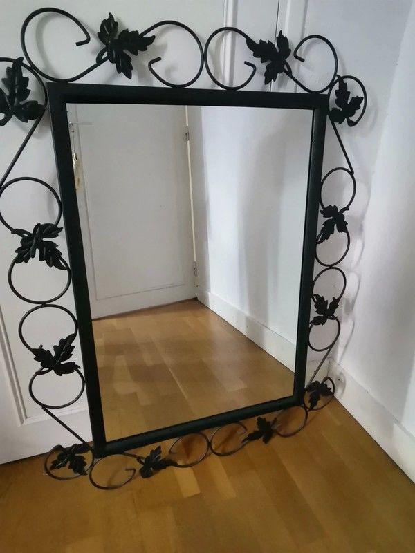 miroir en fer forgé 70 Mesnil-Raoul (76)