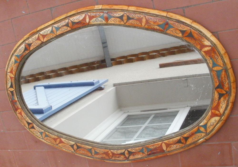 Miroirs ovales occasion annonces achat et vente de for Glace miroir