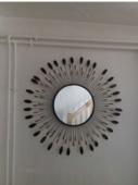 Miroir soleil métal et perles  30 Remiremont (88)