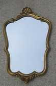 miroir  style  bordure dorée sur bois 0 Écully (69)
