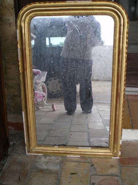 Achetez miroir tres ancien occasion annonce vente salon for Salon miroir paris 14