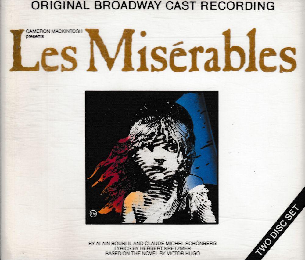 CD Les Miserables Original Broadway Cast Recording 14 Antony (92)