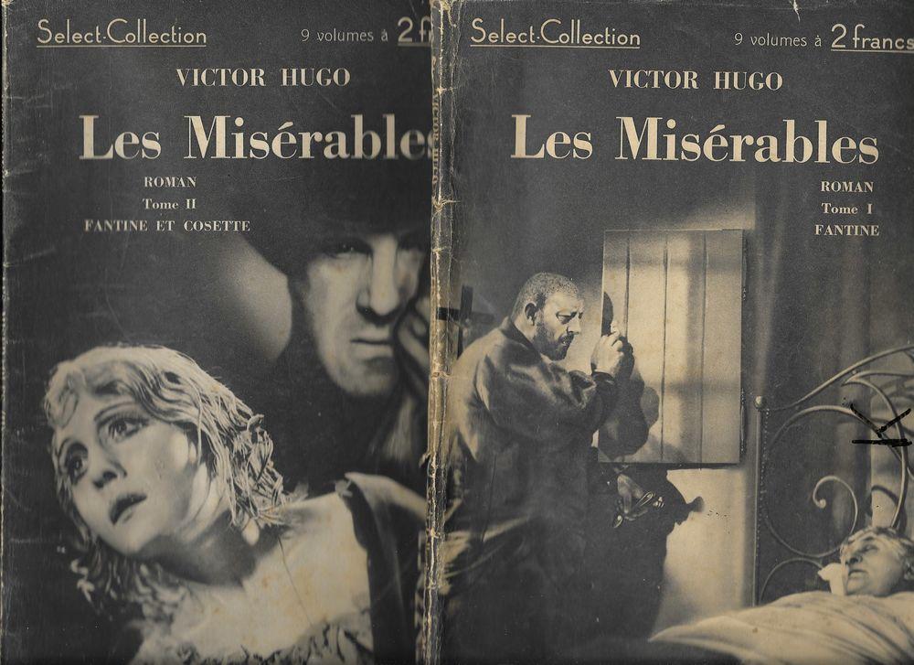 les Misérables en 9 volumes de Victor Hugo 1934 72 Tours (37)