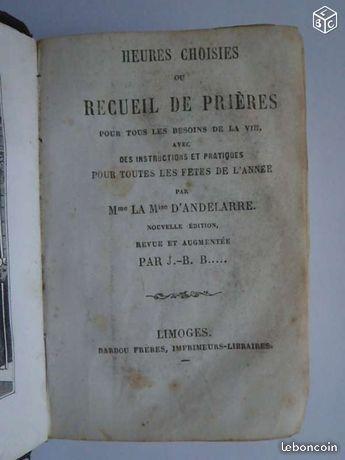 Missel : Edition Barbou à Limoges 40 Limoges (87)