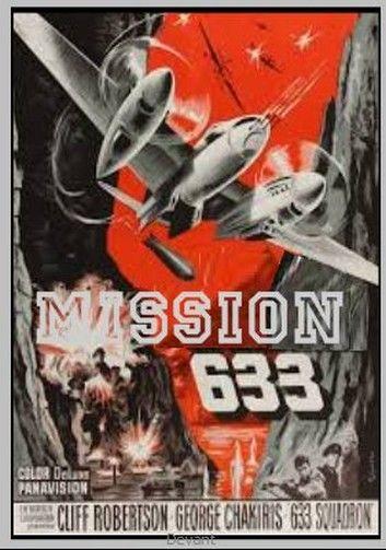 MISSION 633 avec c robertson g chakiris Paypal accepté DVD et blu-ray