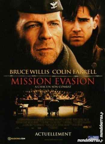 Dvd: Mission évasion (256) DVD et blu-ray