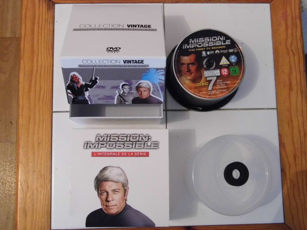 dvd mission impossible( vintage) l'integrale 25 Lille (59)