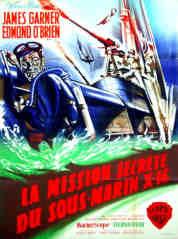 LA MISSION SECRETE DU SOUS MARIN X 16 (james garner) DVD et blu-ray