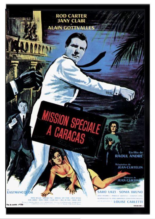 MISSION SPECIALE A CARACAS avec roland carey 0 Malo Les Bains (59)