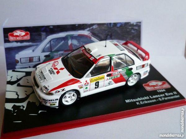 Mitsubishi Lancer Evo 2 Monte Carlo 1994 1/43 Neuf 15 Guînes (62)