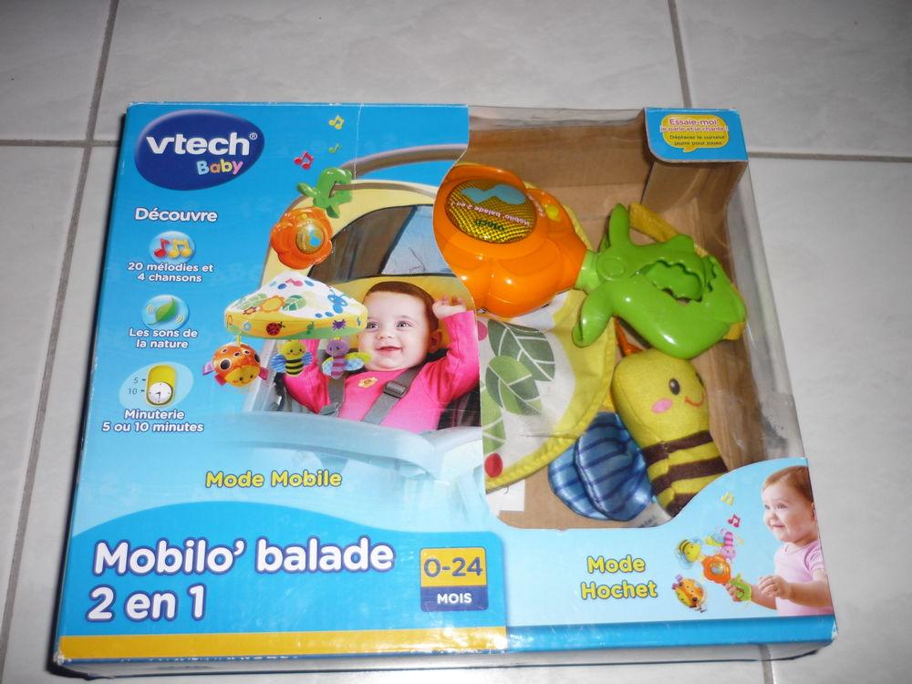 Mobile hochet musical Mobilo' Balade VTech + boîte 15 Saint-Cyr-sur-Loire (37)