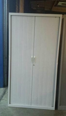 Mobilier de bureau : armoire portes rideaux 150 Loos-en-Gohelle (62)