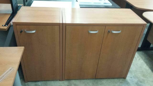 Mobilier de bureau : armoire basse 140 Loos-en-Gohelle (62)