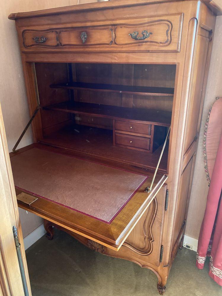 Mobilier chambre merisier régence Meubles