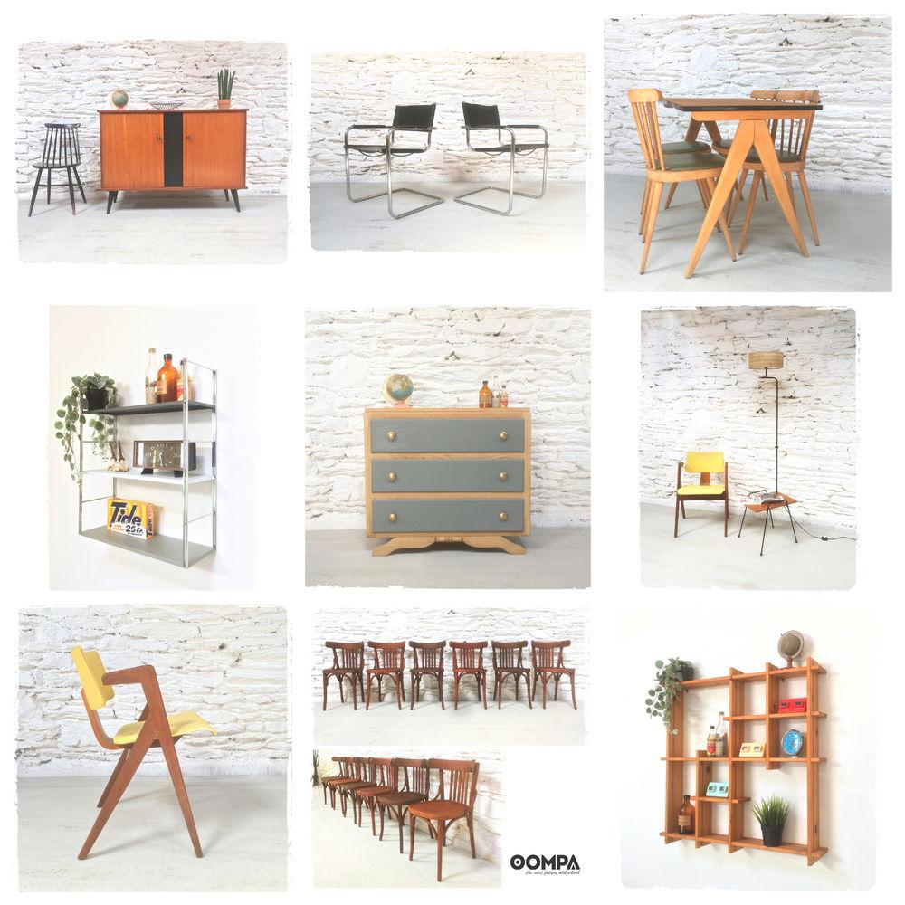 Mobilier Décoration Brocante Vintage Scandinave Années 50 60 70  40 Rennes (35)