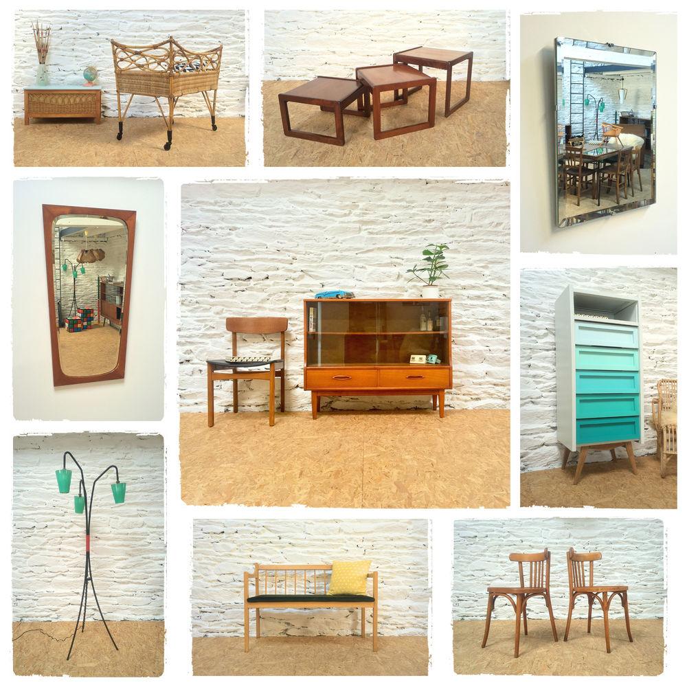 Mobilier Vintage Scandinave Décoration Années 50  30 Rennes (35)