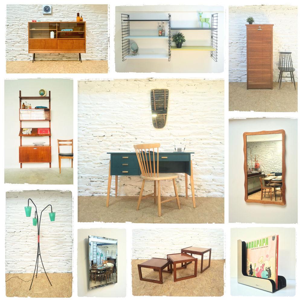 Mobilier Vintage Scandinave Décoration Années 50 15 Rennes (35)