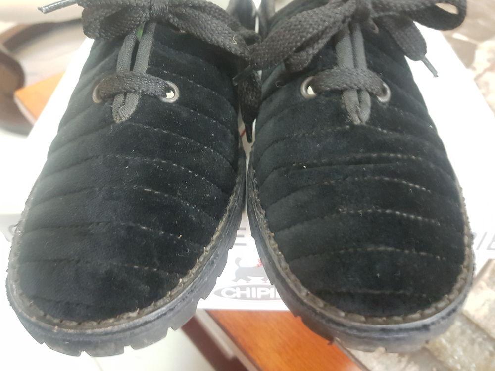 Mocassins homme T40, talon 2,5 cm, VIBRAM, noires 9 Voisins-le-Bretonneux (78)