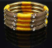 Mode indien Bracelet Métal Set Fil Enroulé  12 Paris 12 (75)