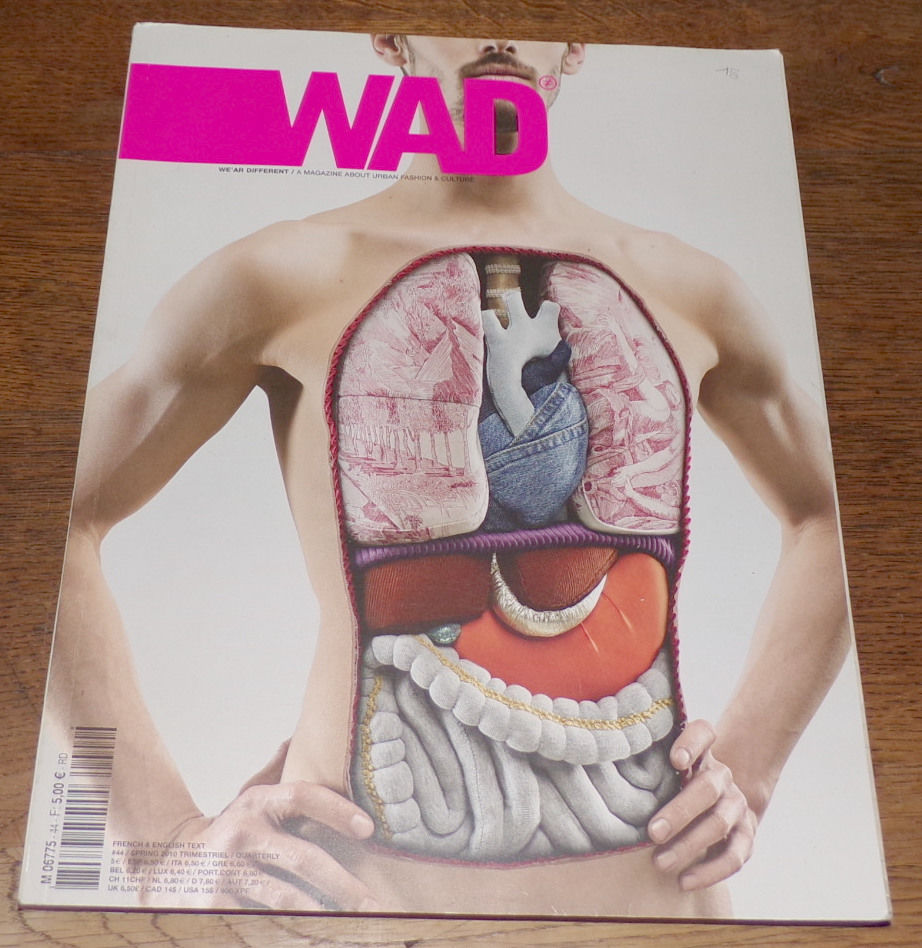 Wad #44 mode spécial issue mars avril mai 2010 266 pages en  10 Laval (53)