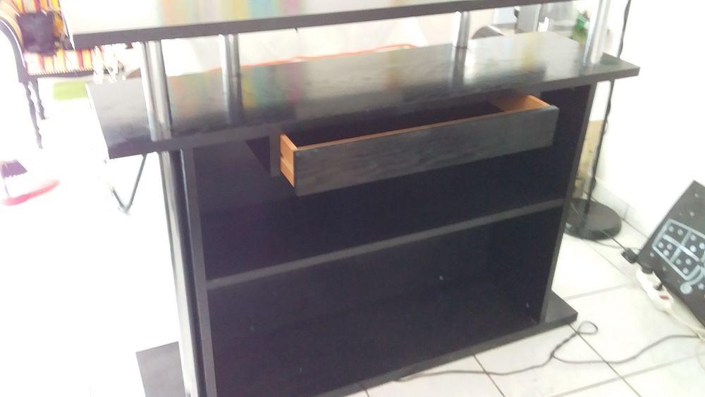 Bar moderne noir en bois 100 Cenon (33)
