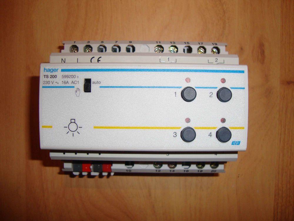 Modules HAGER Tebis TS - TS 200 / TS 220 / TS 221 ... 110 Fouquereuil (62)