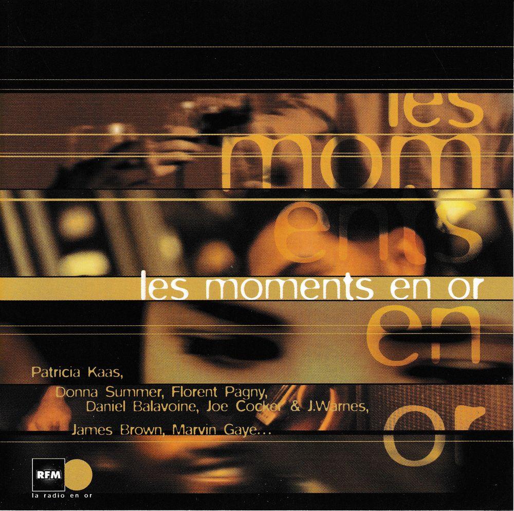 CD  Les Moments En Or     Objet Publicitaire RFM / Apéricube 8 Bagnolet (93)