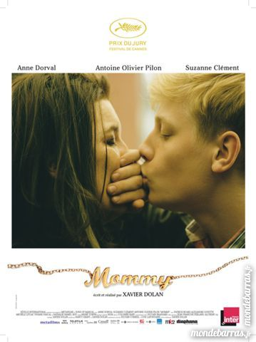 MOMMY Xavier Dolan Véritable Affiche de Cinéma 50 Maisons-Alfort (94)