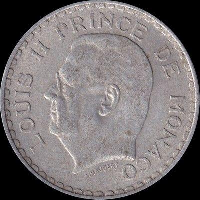 Monaco 5 francs 1945 Louis II 6 Couzeix (87)