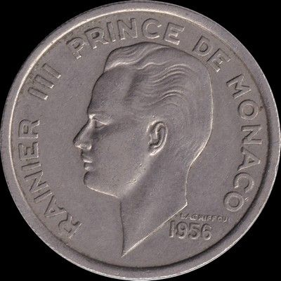 Monaco 100 francs 1956 6 Couzeix (87)
