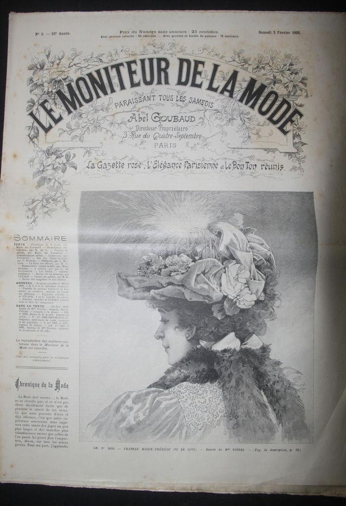 Le Moniteur de la mode.... 0 Châtillon-le-Duc (25)